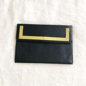 Asos faux leather clutch